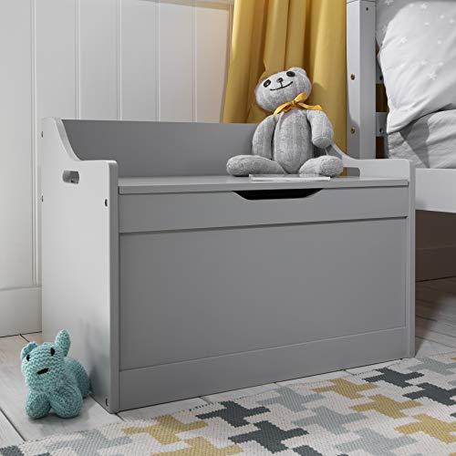 Noa and Nani - Lola Toy Box Toy Storage Organiser Grey