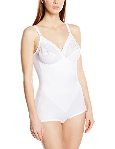 Triumph Damen Formender Body Formfit BS, Weiß (White (03) ), One size (Gr. 85D)