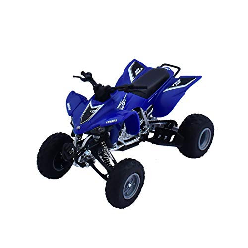 New Ray 43933 ATV JAPAN QUAD HONDA TRX-450R, SCALE 1: 12, DIE CAST,Blue
