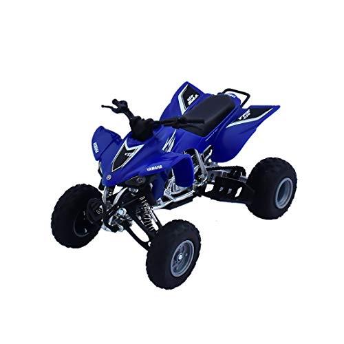 top 10 atv models New Ray Toy 1:12 ATV Diecast Replica Yamaha YFZ450 2008 Blue 42833A