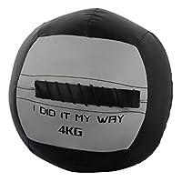 メディシンボール 大人のフィットネス、体育の鉄筋のバランスボール、筋肉の訓練に適したスポーツトレーニング装置 (Size : Size2)