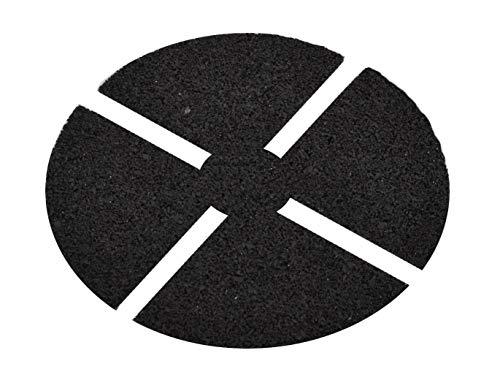 Auflagepad 3 mm Trittschutzpats für Plattenlager Basic Stelzlager Stellfuß Terrassenlager Ø 130 mm 15 Sück