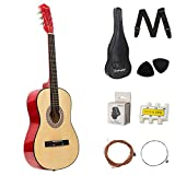 Dawoo Guitarra Acústica De 38 Pulgadas, Conjunto De Guitarra Para Amantes De La...