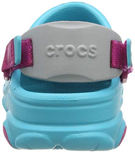 Crocs Classic All-Terrain Clog K Unisex Niños Zoccoli, Turquesa (Digital Aqua), 28/29 EU