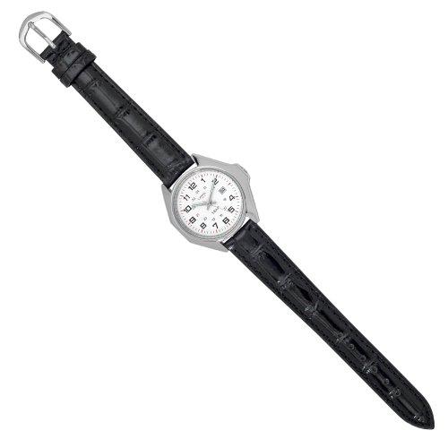 Jouailla 1001.077.0913 - Orologio da polso, cinturino in sintetico colore nero