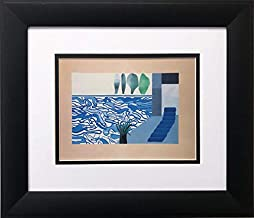 David Hockney Picture of a Hollywood Swimming Pool Newly Custom Framed Art Print 13