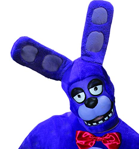 Rubie's Men's Five Nights At Freddy's Bonnie 3/4 Mask, As Shown, One Size