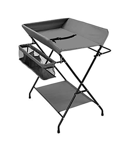 BBYP-YJ baby opvouwbare verpleegtafel stalen frame opvouwbare baby veranderende tafel multifunctionele pasgeboren massage tafel met opslag rack