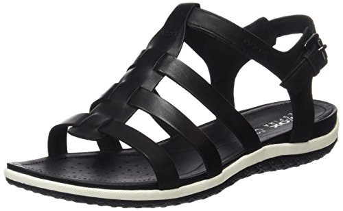 GEOX Woman D SANDAL VEGA SANDALS BLACK_39 EU