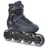 K2 Erwachsene Frauen Männer Fitness Inline Skates Sodo - Schwarz-Grau - EU: 40.5 (US: 8 - UK: 7) - 30B0024.1.1.080
