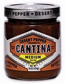 Desert Peppers Cantina Salsa Roja 454g - Medium