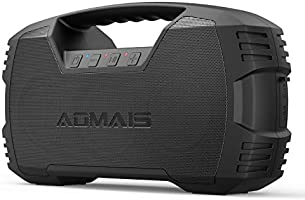 AOMAIS GO Bluetooth Speakers, 40H Playtime Outdoor Portable Speaker, 40W Stereo Sound Rich Bass, IPX7 Waterproof...