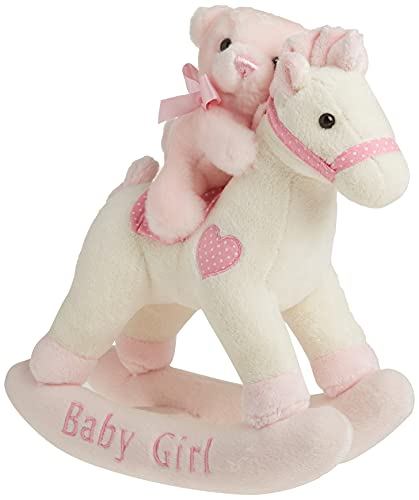 Baby Girl Rocking Horse Musical, Pink