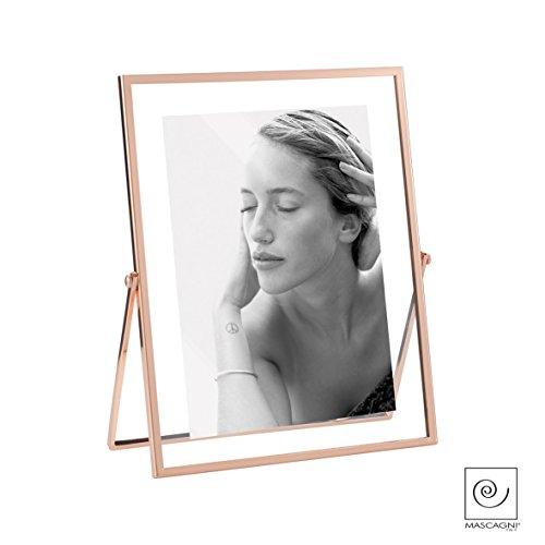 Mascagni - Koperkleurige transparante fotolijst voor foto 13x18-2IZ A692