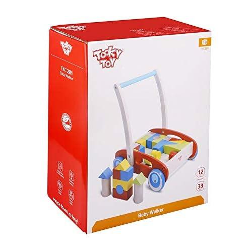Tooky Toy - Carrito para Aprender a Andar con Piezas de ...
