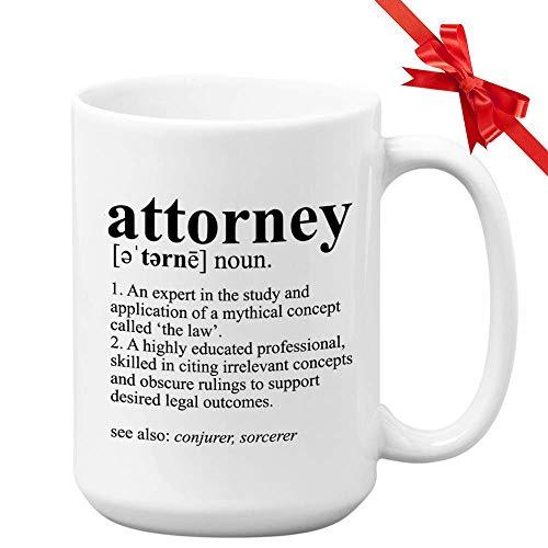 Anwalt Becher Anwalt Definition Experte in der Studie Witziger Anwalt US Superme Court Feministisches Recht Richter Jury Rechtspraktiker Verteidiger
