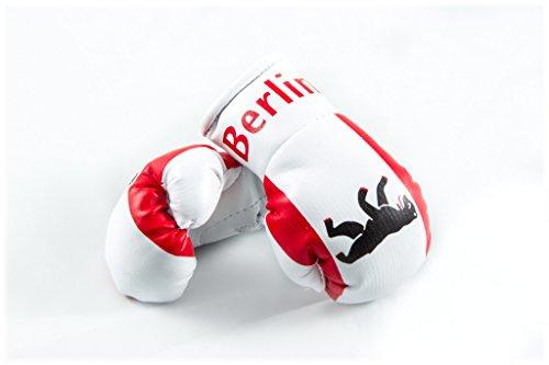 Mini Boxhandschuhe BERLIN, 1 Paar (2 Stück) Miniboxhandschuhe z. B. für Auto-Innenspiegel