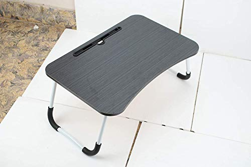 AASTIK Foldable Portable Adjustable Multifunction Laptop Study Lapdesk Table for Breakfast Serving,Watching Movie on Bed/Couch/Notebook Holder Stand