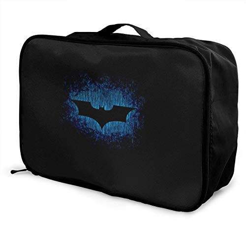 B-atman Travel Duffel Bag Storage Paet Foldable Waterproof Lightweight Portable High Capacity Tote Carry on Lage Bags