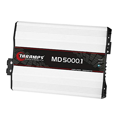 Taramp's MD 5000.1 1 Ohm 5000 Watts Class D Full Range Mono Amplifier