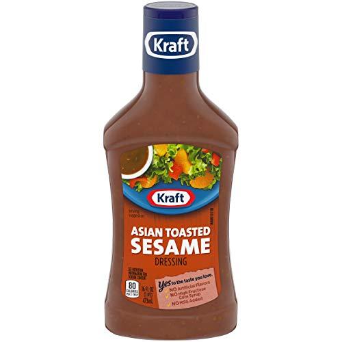Kraft Asian Toasted Sesame Dressing (16 oz Bottles, Pack of 6)