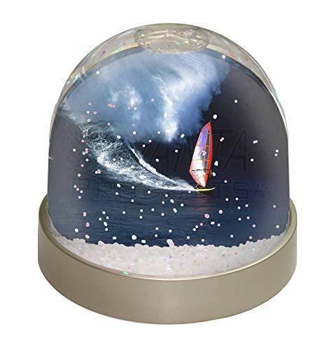 Advanta Windsurfer Schneekugel, Geschenk, Mehrfarbig, 9,2 x 9,2 x 8 cm