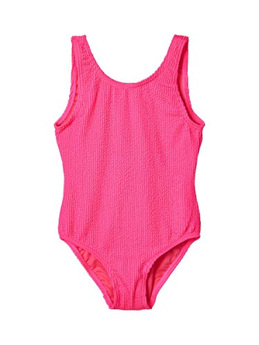 NAME IT Girl Badeanzug Knittereffekt 134-140Sugar Plum