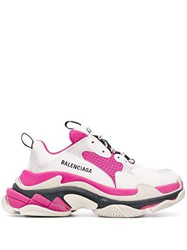 Balenciaga Luxury Fashion Damen 524039W09OM9021 Fuchsia Leder Sneakers   Jahreszeit Permanent