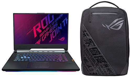 ASUS ROG Strix Scar III Gunmetal Laptop with ROG BP1501G 15.6-inch Backpack