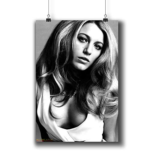 Blake Lively Actress Movie Photo Poster Prints 251-005,Wall Art Decor for Dorm Bedroom Living Room (A3|11x17inch|29x42cm)