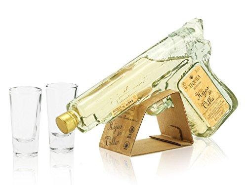 HijosdeVillaTequilaReposadoPistolen-Flasche, 200 ml