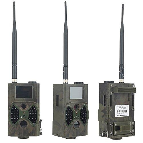 QNQN 1080 p HC 300 m HD Caza Trail Digital ir Cámara Scouting infrarrojo video GPRS GSM 12MP para Caza fauna Cámara