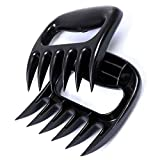 2 Pcs Bear Claws Meat Handler Shredder Claws Meat Shredder for Barbecue Smoker, Grill Turkey, Chicken, Brisket- Meat Claw Pulled Pork Shredders for Carving & Shredding Meat
