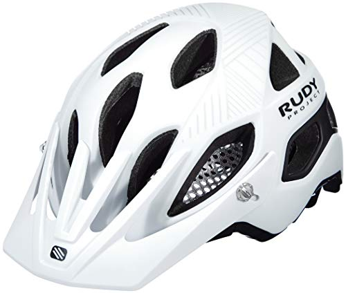 Rudy Project Protera Helm White/Black Matte Kopfumfang L | 59-61cm 2020 Fahrradhelm