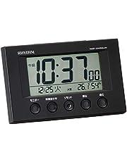 リズム時計 RHYTHM 電波目覚まし時計 フィットウェーブスマート