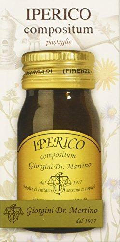 Dr. Giorgini Integratore Alimentare, Iperico Compositum - 60 Pastiglie, 30 g