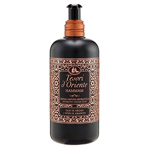 Tesori d'Oriente duftende Seifencreme Arganöl und Orangenblüten - Spender 300 ml