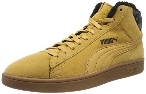 Puma Unisex-Erwachsene Smash V2 Mid Wtr Hohe Sneaker, Beige (Taffy-Puma Black-High Rise-Gum 03), 47 EU
