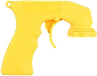 Keenso Auto wartungswerkzeug Aerosol Kunststoff Sprühgriff mit Vollgriff Abzugssperrkragen zum Malen gelb