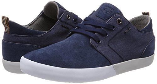 Geox Herren U Smart B Sneaker, Blau - 7
