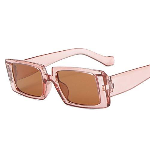 Gafas de Sol Hip Hop Shades Gafas De Sol De Diseñador De Lujo Marco Cuadrado Gafas De Sol Mujeres Hombres Gafas Vintage Retro Mirror 6