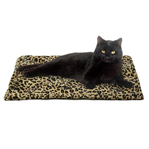 Furhaven Pet Cat Bed Heating Pad - ThermaNAP...