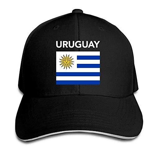 Tttyy Uruguay Uruguayo Bandera Ajustable Gorra de béisbol Sombreros de papá Gorro de Camionero sándwich Gorra de Visera
