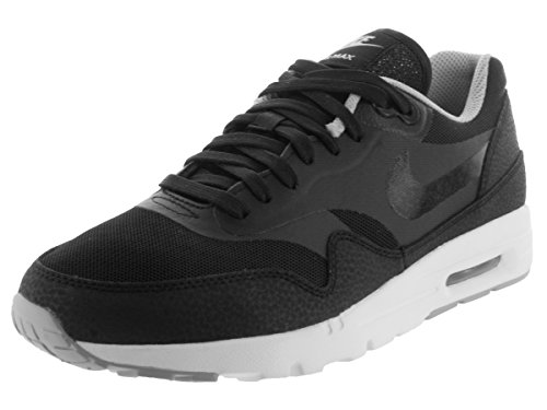 Nike W Air MAX 1 Ultra Essentials, Zapatillas de Deporte Mujer, Negro (Black/Black-WLF Gry-Mtllc Slvr), 42