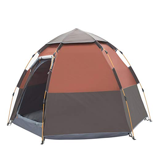 Toogh 2-3 Person Camping Tent Backpacking Tent Automatic Instant Pop Up Tent for Outdoor Sports