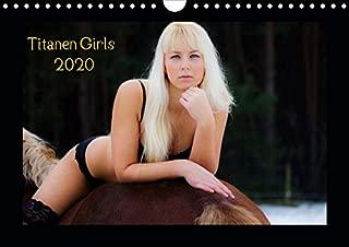 Titanen Girls 2020 - erotische Frauen und starke Pferde (Wandkalender 2020 DIN A4 quer): Sexy Girls und starke Pferde (Monatskalender, 14 Seiten )