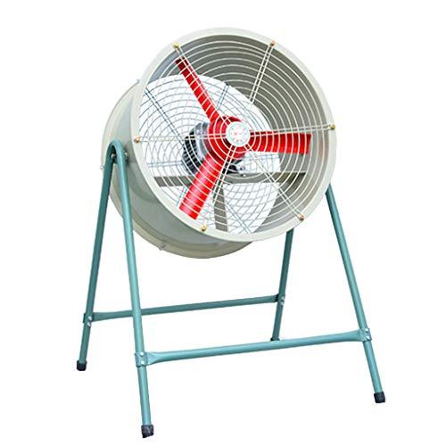Ventilatore Industriale Ventilatore oscillante di Alto Potere del Ventilatore Industriale 180W Silenzioso, Grande Ventilatore Commerciale all'aperto del Pavimento Diritto, circolatore ad Aria Freddo