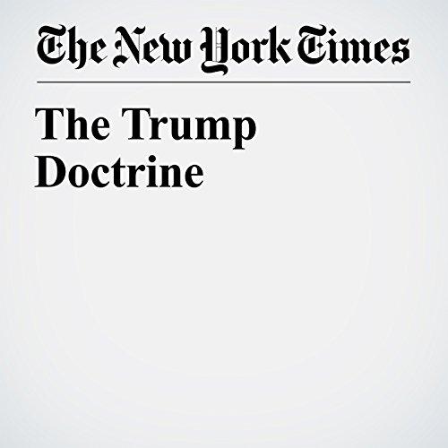The Trump Doctrine copertina