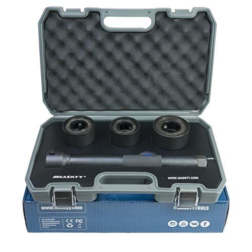 HASKYY Axialgelenk Spurstangen Schlüssel Abzieher I 4tlg. Werkzeugsatz Austausch Spurstangenkopf