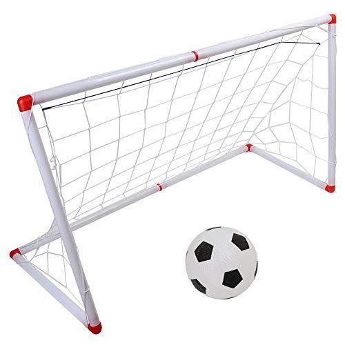 Qiterr Kinderspielzeug Fußballtor Kleines Fußballtürspielzeug(106cm)